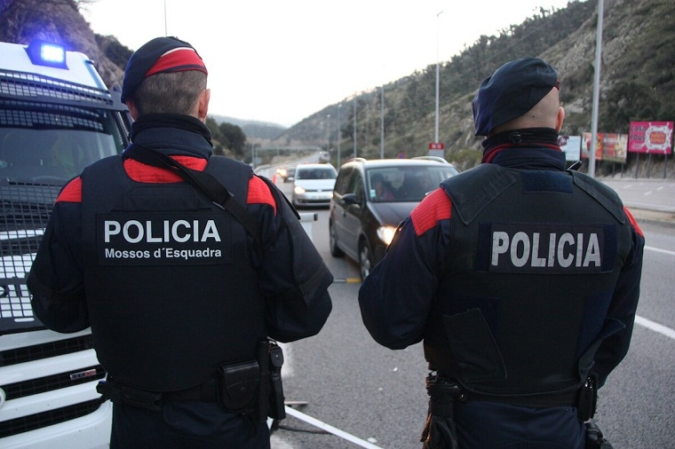 How is urban security at Catalonia?